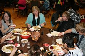 landmark high school hold annual family thanksgiving dinner