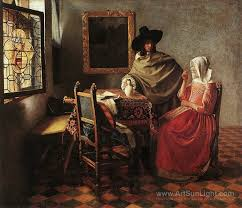 lady writing a letter with her maid 1670 jan vermeer van delft