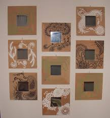 home decoration intriguing arts and crafts mirrors and wall mount