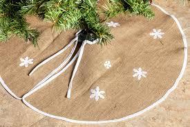rustic burlap tree skirt 36 country
