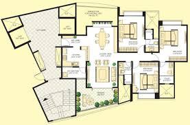 1660 sq ft 3 bhk floor plan image marvel realtors and developers