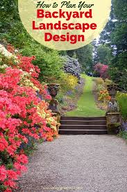 how to plan your backyard landscape design png