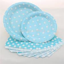 aliexpress buy 1560 pcs blue polka dot tableware disposable