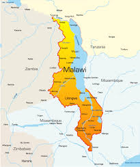 africa map malawi malawi map showing attractions accommodation