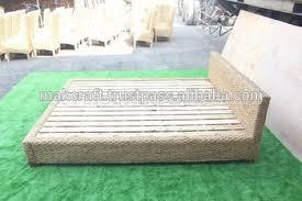 Wicker Furniture Bedroom Sets by Popular Wicker Rattan Wood Bedroom Set Furniture Water Hyacinth