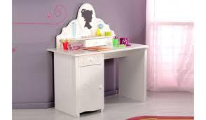 coiffeuse chambre bureau coiffeuse de chambre fille blanc brillant novomeuble
