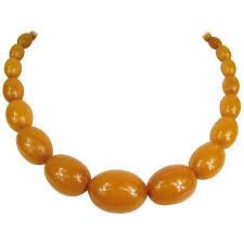 vintage beads necklace images 1940s vintage butterscotch vintage beaded bakelite necklace for jpg