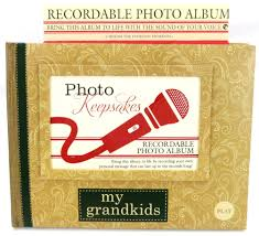 recordable photo album picture frames