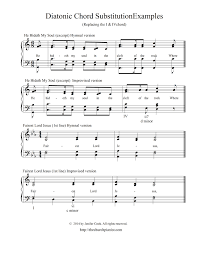 the church pianist chord substitutions