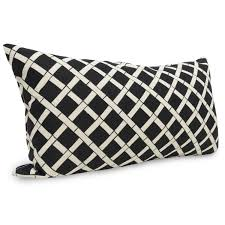 black patterned cushions decorating beautiful outdoor lumbar pillows for patio accessories