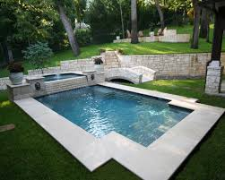 garden and backyard swimming pool stepping ideas that you dream
