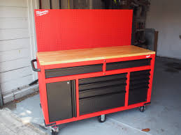 Milwaukee Cabinet The New Milwaukee Tool Mobile Workstation Is A Diyers Dream