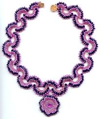 necklace pictures free images Free pattern for necklace with pendant algambra beads magic jpg