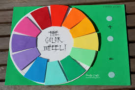 doodlecraft fun foam color wheel teaching aid