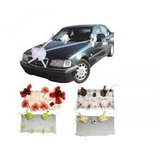 kit deco voiture mariage kit déco voiture pas cher pour décoration voiture mariage badaboum