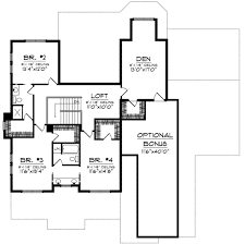 European Home Floor Plans by European Style House Plan 4 Beds 4 50 Baths 3617 Sq Ft Plan 70 697