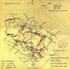 Guadalcanal Map Defending New Caledonia 1942 U2013 182nd Infantry