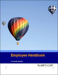 employee handbook writing tips
