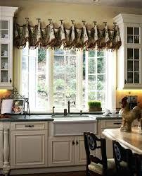 Kitchen Bay Window Curtain Ideas Kitchen Window Valances Image Of Kitchen Valance Ideas Kitchen Bay