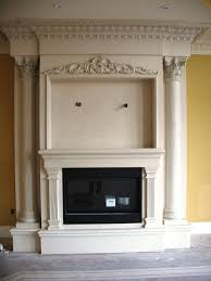 contemporary fireplace mantels home fireplaces firepits