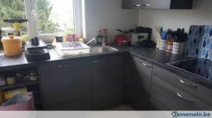 cuisine gris anthracite plan de travail pour cuisine gris anthracite neuf emballé a