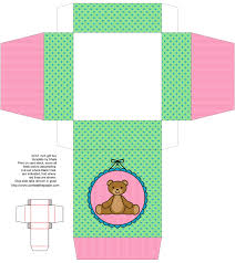 teddy bear box cute kids crafts free box templates to print for