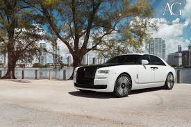 roll royce phantom white ag luxury wheels rolls royce ghost forged wheels