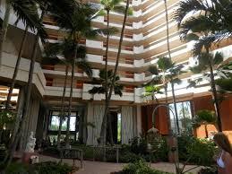 foyer palm trees picture of hyatt regency resort and spa