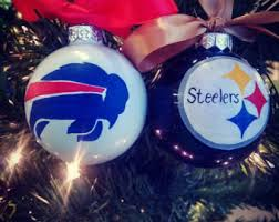 nfl ornament etsy