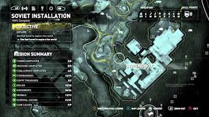 Lara Maps Rise Of The Tomb Raider 100 Collectibles Map Only Soviet