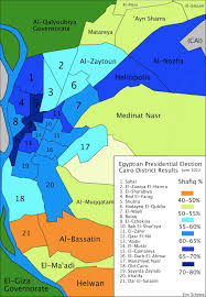 Presidential Election Map 2012 by Cairo Presidential Election Map Shafiq U0027s Turf Eric Schewe