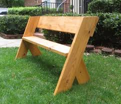 Outdoor Wooden Chairs Plans Diy Tutorial 16 Simple Outdoor Wood Bench The Project Lady