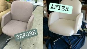 Diy Office Chair Covers 5 Leather Chair Diy Youtube