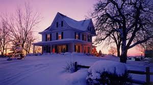 Winter House Modern Victorian House Walldevil