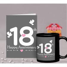 18th anniversary gifts 18th wedding anniversary gift for parents