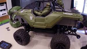 halo warthog 1 6 scale halo warthog body for the traxxas stampede vxl 4x4