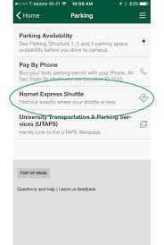 Sac State Map Utaps Shuttle Tracking Guide