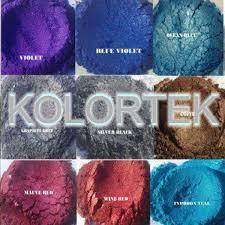 metallic car paint colors chameleon effect pigment powder coatings