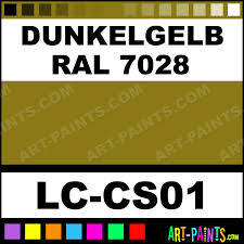 dunkelgelb ral 7028 german tanks wwii airbrush spray paints lc