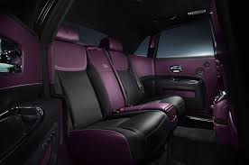 purple rolls royce rolls royce launches statement making black badge at geneva