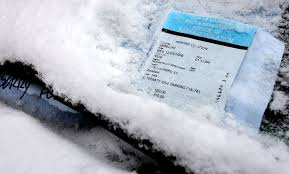 snow related parking tickets hit 5 year low in last winter