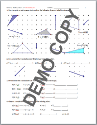 high geometry common core g co a 5 sequences of