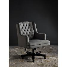 Irving Leather Chair Safavieh Desk Chairs Home Office Furniture The Home Depot
