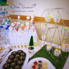 themed dessert table mathias tobias hot air balloon themed dessert table the white
