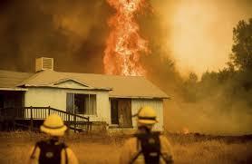 Wildfire Yosemite 2013 by Fire Rages Near Yosemite National Park Wsj