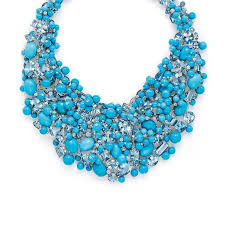 turquoise colored necklace images Tiffany blue book turquoise bib necklace jpg