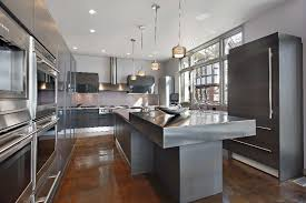 stainless steel islands kitchen stainless steel photos the craft company