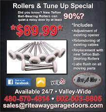 noisy garage door garage door repair specials rite a way garage door service