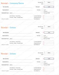 receipt book template printable lines paper