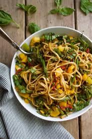 soba noodle u0026 vegetable salad vegan in pursuit of more